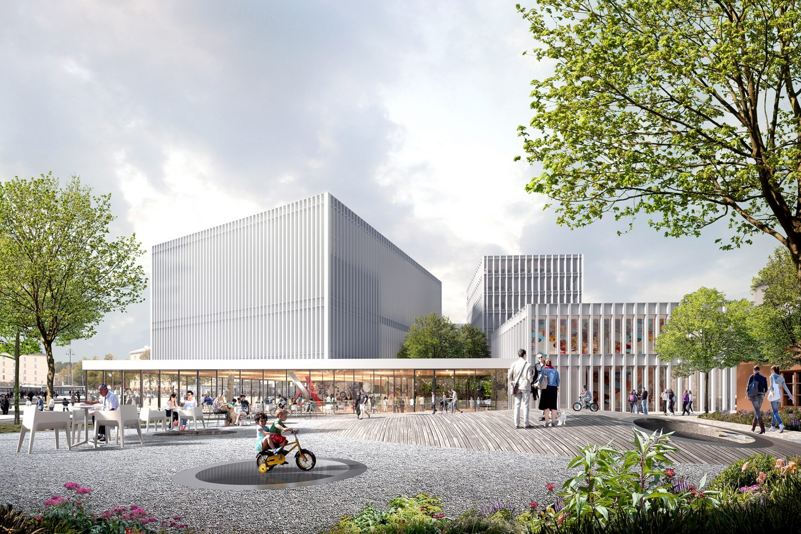 Lundén Architecture Company Awarded Shared 3rd Prize In Tampere Art Museum  Competition
