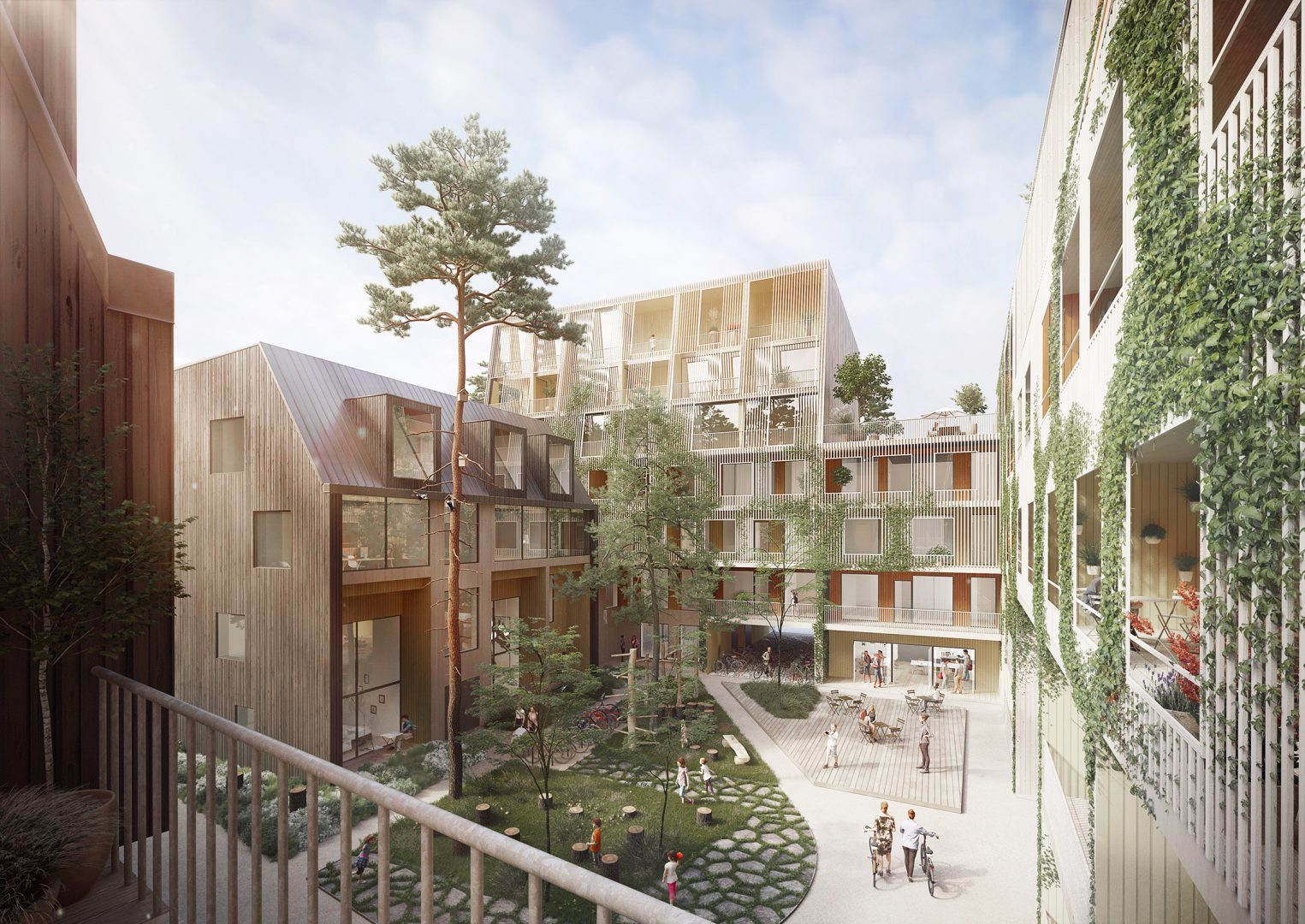 Lundén Architecture Company And OOPEAA Wins Design Build Competition For  Puu Kivistö